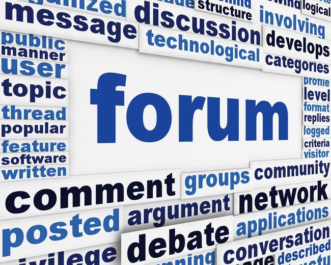 Pourquoi les gens utilisent-ils les forums?